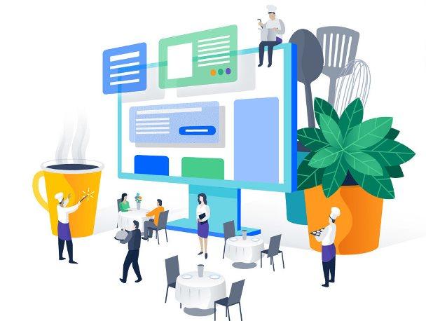 Иллюстрации для сайта – какие должны быть, где брать